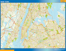 Wall Map Of New York City by New Illustrator Eps City U0026 Country Maps