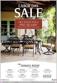 Patio Furniture Sale San Diego by Labor Day Sale Today U0027s Patio Furniture U0026 Decor San Diego Ca