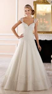 dropped waist wedding dress junior bridesmaid dresses stella york lace beading and dress lace