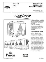 30rb catalogo completo chiller heat exchanger mechanical fan