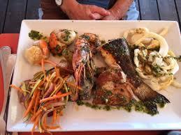 cuisine sur plancha plancha loup picture of la muscade sanary sur mer tripadvisor