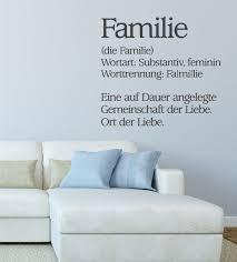 familie ist das wichtigste sprüche definition familie als wandtattoo tolle wandmotive für die ganze