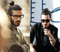 top knot mens hairstyles trendy sensual male top knots hairstyles haircuts and hair