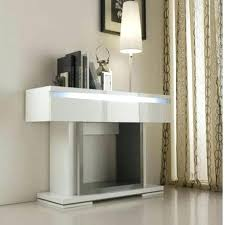 white table with drawers contemporary console table modern console tables modern white table