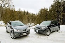 toyota rav vs honda crv comparison test 2013 honda cr v vs 2013 toyota rav4 autos ca