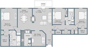 Three Bedroom Apartments Charlotte Nc Sterling Magnolia Apartments 3720 Wendwood Lane 103 Charlotte