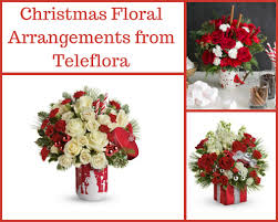 christmas floral arrangements from teleflora brighten up the holidays