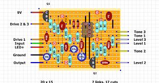 guitar fx layouts ibanez ts9