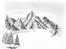 how to draw a winter landscape from scratch sowela art