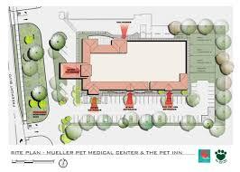 architectural renderings mueller pet medeical center