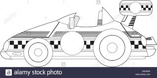 cartoon car drawing cartoon car black and white stock photos u0026 images alamy