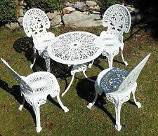 cast iron outdoor table cast iron outdoor table and chair sets ebay