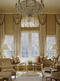 Drapes For Living Room Windows 5 Tall Window Treatment Ideas For Tall Windows Blindsgalore Blog