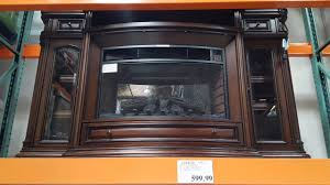 costco well universal wood electric fireplace 599 youtube