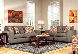 Extraordinary Orange Living Room Set Design  Orange Couches - Orange living room set