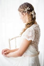 bridal hair pins floral wedding hair pins