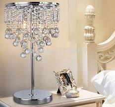 Crystal Desk Lamp by Crystal Table Lamps For Living Room U2013 Living Room Design Inspirations