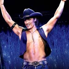 regular guys try magic mike matthew mcconaughy in magic mike which is why we have an on