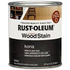 shop rust oleum ultimate kona interior stain actual net contents