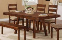 rustic dining room table sets the best dark wood dining table