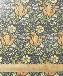 william morris compton pvc oilcloth floral fabric by the metre