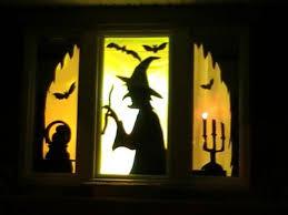 Skeleton Halloween Window Decorations by Halloween Window Decor Pottery Barn Halloween Decorations