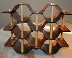 wine rack by torsten johansson for formträ ab 1960s for sale at