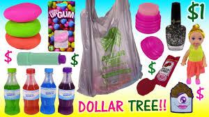 dollar tree haul bonanza squishy dough balls nail polish lip balm