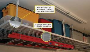 Best Garage Organization System - garage overhead storage comparison best garage overhead storage