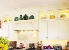decorating above kitchen cabinet design over the ideas white decor