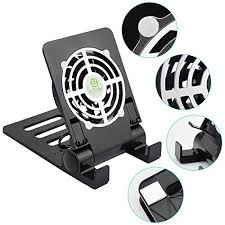 Quiet Desk Fans by Lifbetter Usb Desk Fan Super Quiet Cooling Pad With Foldable Stand