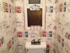 funky bathroom wallpaper ideas colourful cloakroom the brighton bathroom company