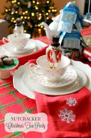 christmas tea party party prep nutcracker christmas tea party bigelow tea the