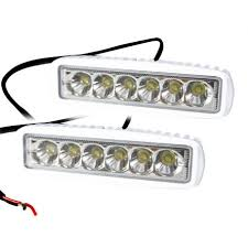 12v led light bar 1pc 2pcs led bar 6 inch 18w led work light 12v flood spot beam
