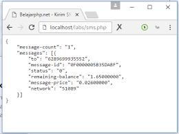 format artikel yang benar tutorial sms gateway api dan php dengan layanan nexmo belajarphp net