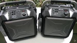 Rugged Outdoor by Monster Rockin U0027 Roller 3 Rugged Indoor Outdoor Bluetooth Speaker
