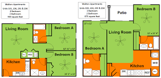Types Of Apartment Layouts Iowa State University West Department Of Residence Housing