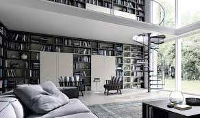 Contemporary Living Room Wall Units And Libraries Ideas - Design wall units for living room
