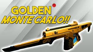 destiny new gold camo on monte carlo ornament gameplay