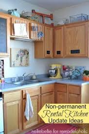 kitchen improvements ideas ten kitchen improvements for renters open shelving metal