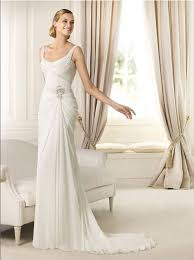 wedding dresses that you look slimmer in gorgeous sheath wedding dress adds a touch of