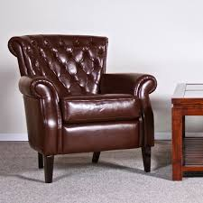 furniture leather wingback chair with leather chairs of bath