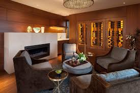 warm family den contemporary homes mosaic architects boulder