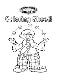 wonderful clown coloring pages dokardokarz net