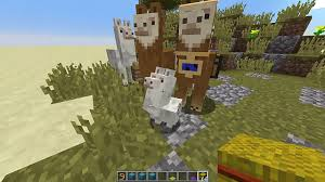 How To Build A Horse Barn In Minecraft How To Tame Ride And Breed Llama In Minecraft 1 11 Minecraft