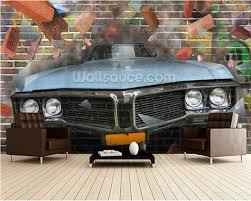 aliexpress com buy custom 3d retro textile wallcoverings
