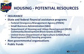 Usda Rural Housing Development 1 Introduction To Emergency Management In Ohio Unit 8 Recovery