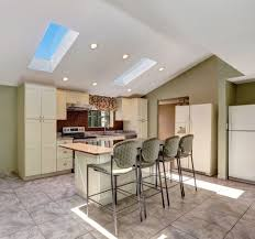 what is the best lighting for a sloped ceiling 42 kitchens with vaulted ceilings vaulted ceiling kitchen