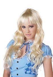 wig halloween coquette blonde wig buycostumes com