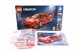 f40 parts awesome awesome lego creator f40 10248 complete parts
